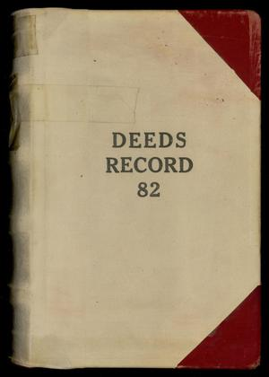 Primary view of object titled 'Travis County Deed Records: Deed Record 82'.
