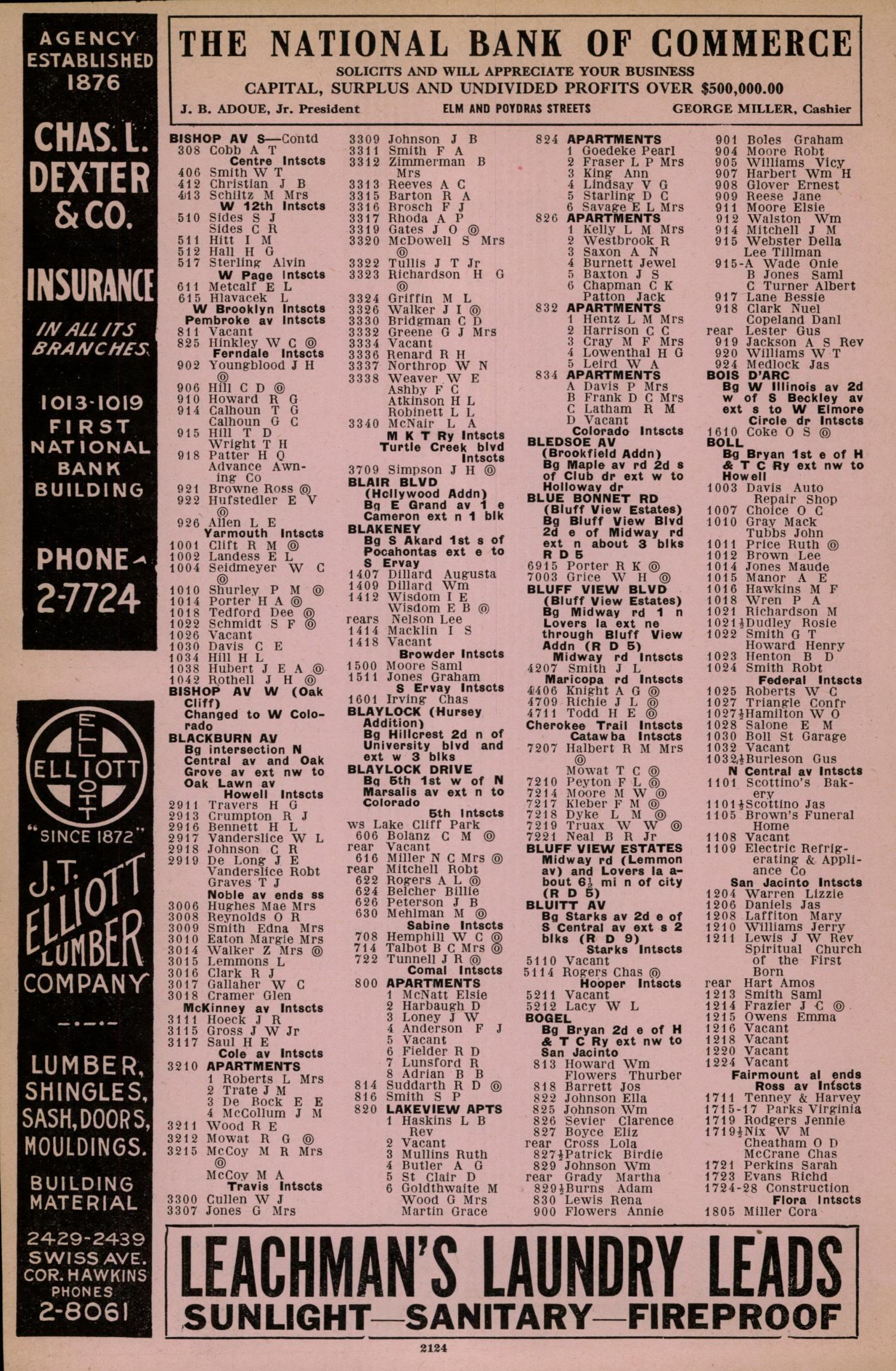 3aa6122e38 Dallas City Directory