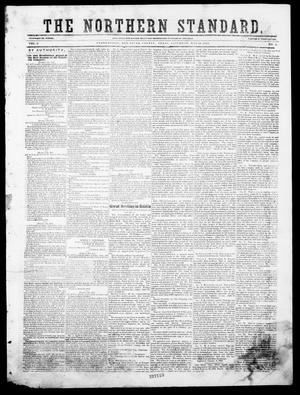 Primary view of The Northern Standard. (Clarksville, Tex.), Vol. 6, No. 4, Ed. 1, Saturday, May 20, 1848