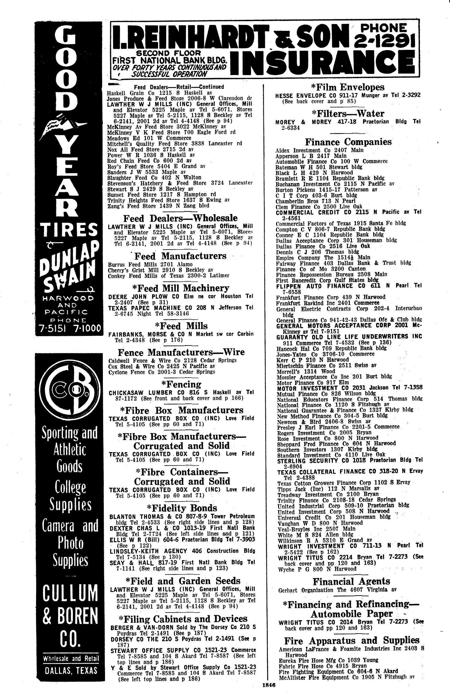 Dallas City Directory, 1936 - Page 1,846 - The Portal to Texas History