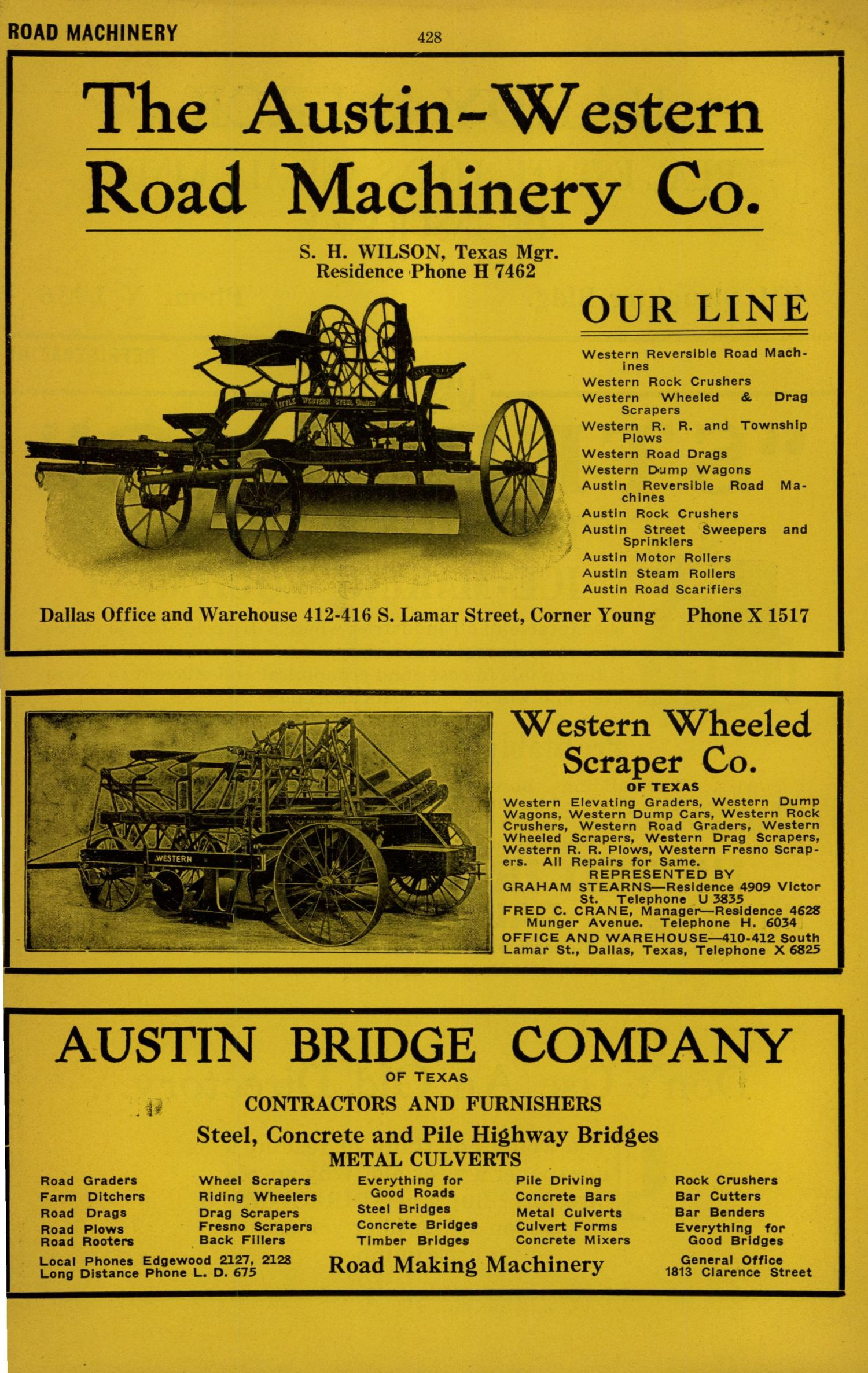 Dallas City Directory, 1924 - Page 428 - The Portal to Texas