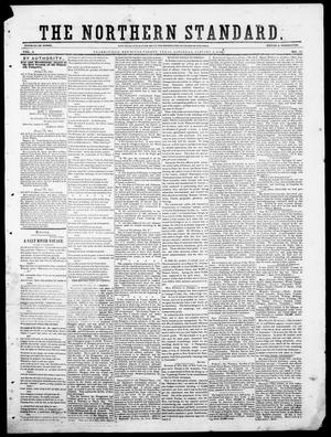 Primary view of object titled 'The Northern Standard. (Clarksville, Tex.), Vol. 6, No. 35, Ed. 1, Saturday, January 6, 1849'.