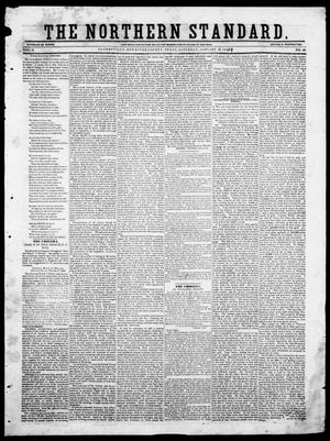 Primary view of The Northern Standard. (Clarksville, Tex.), Vol. 6, No. 36, Ed. 1, Saturday, January 13, 1849