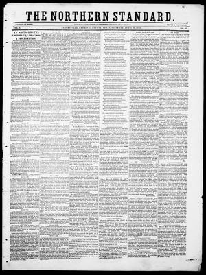 Primary view of object titled 'The Northern Standard. (Clarksville, Tex.), Vol. 6, No. 51, Ed. 1, Saturday, April 28, 1849'.