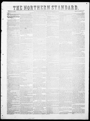 The Northern Standard. (Clarksville, Tex.), Vol. 7, No. 3, Ed. 1, Saturday, May 26, 1849