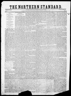 Primary view of The Northern Standard. (Clarksville, Tex.), Vol. 7, No. 14, Ed. 1, Saturday, August 11, 1849