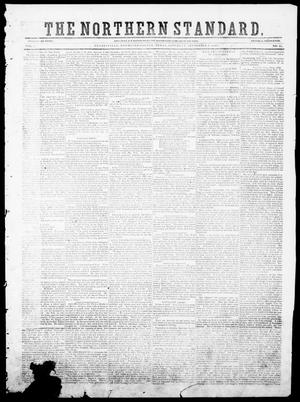 Primary view of object titled 'The Northern Standard. (Clarksville, Tex.), Vol. 7, No. 15, Ed. 1, Saturday, September 1, 1849'.