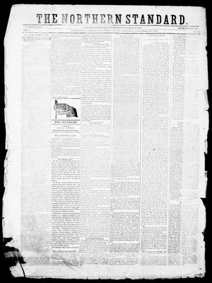 Primary view of object titled 'The Northern Standard. (Clarksville, Tex.), Vol. 7, No. 18, Ed. 1, Saturday, September 29, 1849'.