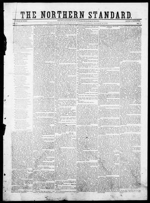 The Northern Standard. (Clarksville, Tex.), Vol. 8, No. 7, Ed. 1, Saturday, October 12, 1850