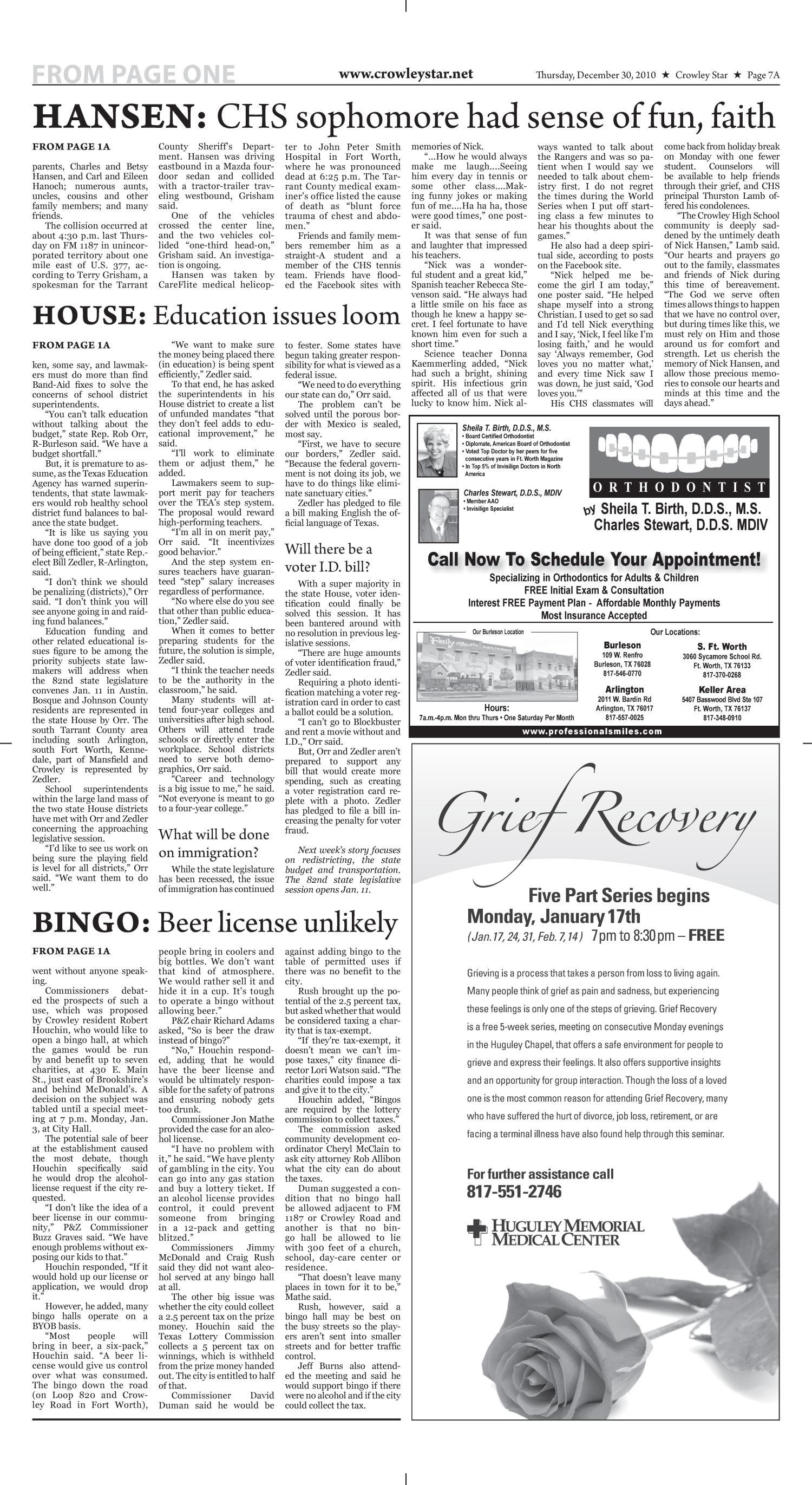 Crowley Star Tex Vol 24 No 38 Ed 1 Thursday December 30 2010