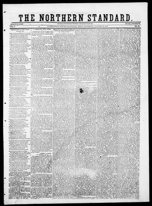 Primary view of object titled 'The Northern Standard. (Clarksville, Tex.), Vol. 8, No. 20, Ed. 1, Saturday, January 18, 1851'.
