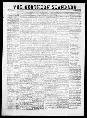 Primary view of object titled 'The Northern Standard. (Clarksville, Tex.), Vol. 9, No. 9, Ed. 1, Saturday, November 1, 1851'.