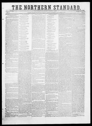 Primary view of object titled 'The Northern Standard. (Clarksville, Tex.), Vol. 9, No. 10, Ed. 1, Saturday, November 8, 1851'.