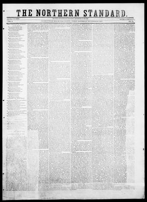 Primary view of object titled 'The Northern Standard. (Clarksville, Tex.), Vol. 9, No. 12, Ed. 1, Saturday, November 22, 1851'.