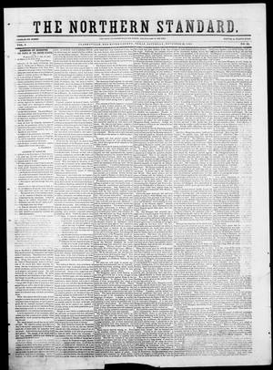 Primary view of object titled 'The Northern Standard. (Clarksville, Tex.), Vol. 9, No. 13, Ed. 1, Saturday, November 29, 1851'.