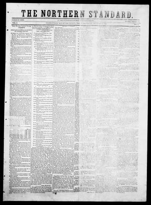 Primary view of object titled 'The Northern Standard. (Clarksville, Tex.), Vol. 9, No. 14, Ed. 1, Saturday, December 6, 1851'.