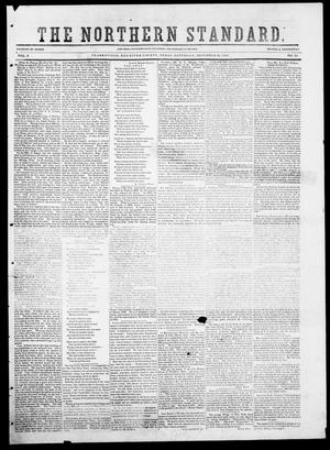 Primary view of object titled 'The Northern Standard. (Clarksville, Tex.), Vol. 9, No. 15, Ed. 1, Saturday, December 13, 1851'.