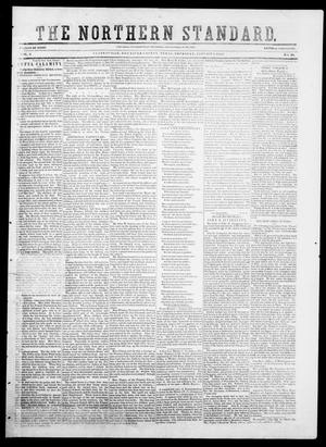 Primary view of object titled 'The Northern Standard. (Clarksville, Tex.), Vol. 9, No. 18, Ed. 1, Saturday, January 3, 1852'.