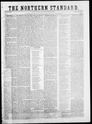 Primary view of object titled 'The Northern Standard. (Clarksville, Tex.), Vol. 9, No. 19, Ed. 1, Saturday, January 10, 1852'.