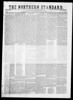 Primary view of The Northern Standard. (Clarksville, Tex.), Vol. 9, No. 23, Ed. 1, Saturday, February 7, 1852