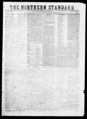 Primary view of object titled 'The Northern Standard. (Clarksville, Tex.), Vol. 9, No. 24, Ed. 1, Saturday, February 14, 1852'.