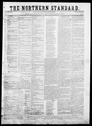 Primary view of object titled 'The Northern Standard. (Clarksville, Tex.), Vol. 9, No. 26, Ed. 1, Saturday, February 28, 1852'.