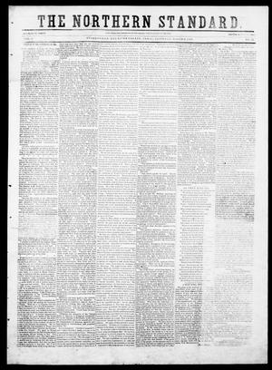 Primary view of object titled 'The Northern Standard. (Clarksville, Tex.), Vol. 9, No. 27, Ed. 1, Saturday, March 6, 1852'.