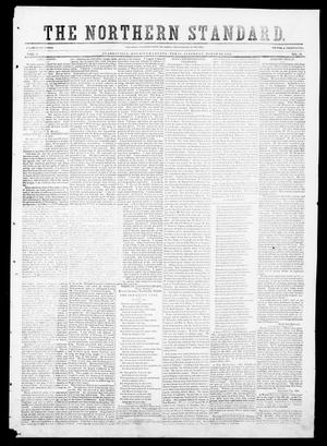 Primary view of object titled 'The Northern Standard. (Clarksville, Tex.), Vol. 9, No. 29, Ed. 1, Saturday, March 20, 1852'.