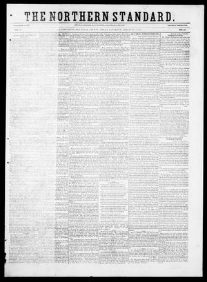 Primary view of object titled 'The Northern Standard. (Clarksville, Tex.), Vol. 9, No. 42, Ed. 1, Saturday, August 14, 1852'.