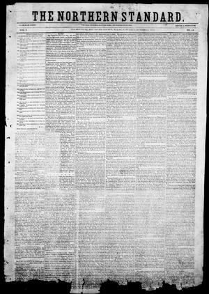 The Northern Standard. (Clarksville, Tex.), Vol. 9, No. 48, Ed. 1, Saturday, October 2, 1852