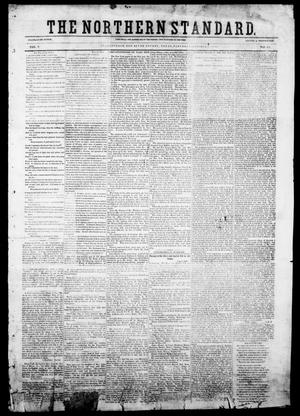 Primary view of object titled 'The Northern Standard. (Clarksville, Tex.), Vol. 9, No. 49, Ed. 1, Saturday, October 9, 1852'.