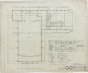 Primary view of object titled 'First Methodist Church Additions: First Floor Plan and Details'.