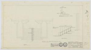 Primary view of object titled 'Midland Memorial Hospital, Midland, Texas: Main Entrance Stair Rail'.
