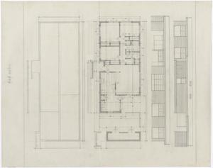 Primary view of object titled 'Bryan Air Force Base Housing: Floor Plan Types 3 & 4'.