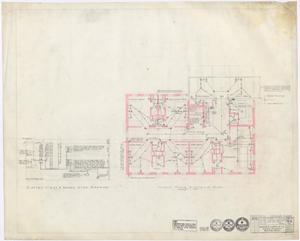 Primary view of object titled 'Hamilton Hospital Additions, Olney, Texas: Second Floor Electrical Additions'.