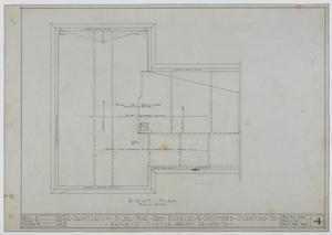 Primary view of object titled 'Sanitarium Building, Stamford, Texas: Roof'.