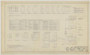 Primary view of object titled 'Highland Methodist Church, Odessa, Texas: Window, Door, and Room Finish Schedules'.
