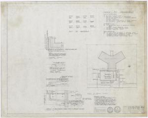 Primary view of object titled 'Hamilton Hospital Additions, Olney, Texas: Plot Plan and Drawing Index'.