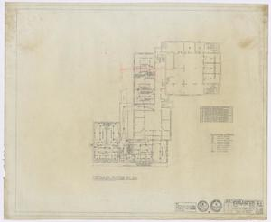 Primary view of object titled 'First Baptist Church Educational Building Additions: Ground Floor Electrical Plan'.