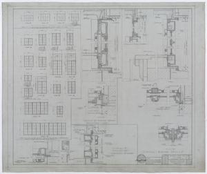 Primary view of object titled 'Hendrick Home for Children, Abilene, Texas: Window Plans'.