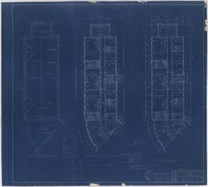 Primary view of object titled 'Hendrick Home for Children, Abilene, Texas: First Floor, Second Floor, and Roof Plans [Proof]'.