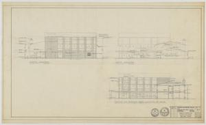 Primary view of object titled 'Highland Methodist Church, Odessa, Texas: Elevation Plan'.