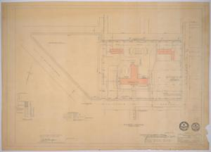 Primary view of object titled 'Midland Memorial Hospital, Midland, Texas: Preliminary Plans for Midland Memorial Hospital, Plot'.