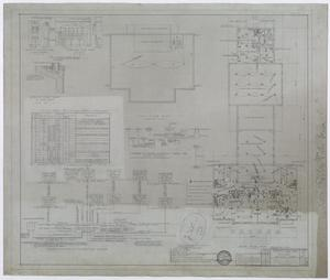 Primary view of object titled 'Hendrick Home for Children, Abilene, Texas: Mechanical Plans'.