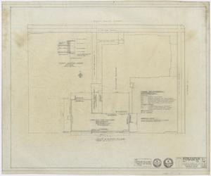 Primary view of object titled 'First Baptist Church Educational Building Additions: Plot and Roof Plan'.