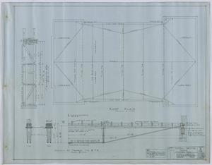 Primary view of object titled 'Central Christian Church, Stamford, Texas: Roof Plan'.