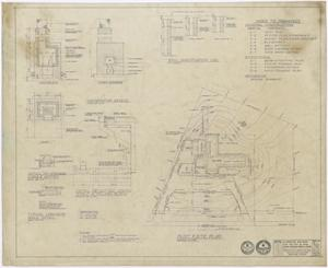 Primary view of object titled 'Hospital Building, Spur, Texas: Plot and Site Plan'.