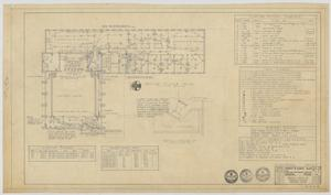 Primary view of object titled 'Highland Methodist Church, Odessa, Texas: Second Floor Electrical Plan, Revised'.