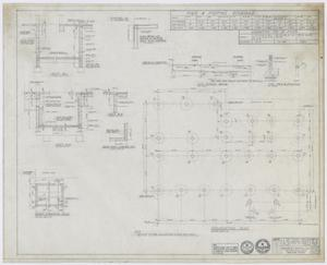 Primary view of object titled 'Hamilton Hospital Additions, Olney, Texas: Foundation Plan'.