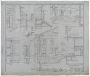 Primary view of object titled 'Hendrick Home for Children, Abilene, Texas: Section Drawings and Elevation Plans'.